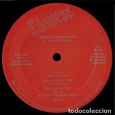 Discos de vinilo: MASURRATI AND HUEY HARRIS – SUPER DUPER (LOVIN). Lote 271406308