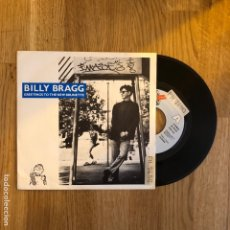 Discos de vinilo: BILLY BRAGG - GREATINGS TO THE NEW BRUNETTE. Lote 271414538