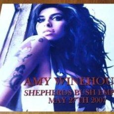 Discos de vinilo: X17 - AMY WINEHOUSE. LIVE FROM SHEPHERDS BUSH EMPIRE. LP VINILO. NUEVO.. Lote 271418323