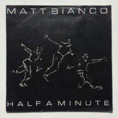 Discos de vinilo: MATT BIANCO – HALF A MINUTE / MATT'S MOOD II GERMANY,1984 WEA. Lote 271429048