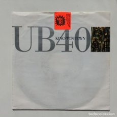 Disques de vinyle: UB40 – KINGSTON TOWN / LICKWOOD GERMANY,1990 VIRGIN. Lote 271434503