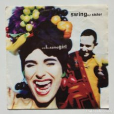 Discos de vinilo: SWING OUT SISTER – AM I THE SAME GIRL / SPIRIT MOVES GERMANY,1992 FONTANA. Lote 271440448