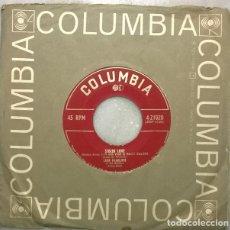 Disques de vinyle: LEON MCAULIFFE & HIS WESTERN SWING BAND. HEAR ME NOW/ STOLEN LOVE. COLUMBIA, USA 1952 SINGLE. Lote 271442798