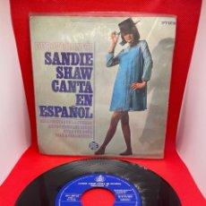 Discos de vinilo: REINO UNIDO 1967. MARIONETAS EN LA CUERDA ('PUPPET ON A STRING') - SANDIE SHAW (VERSIÓN EN ESPAÑOL). Lote 271443778