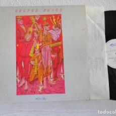 Discos de vinilo: GOLPES BAJOS. MINI LP 1ª EDICIÓN NUEVOS MEDIOS 1983 EXCELENTE, VER + DETALLES ADJUNTO. Lote 271505548