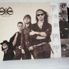 Discos de vinilo: HEROES DEL SILENCIO ,SENDEROS DE TRAICIÒN LP ORIGINAL 1990 CON ENCARTE,BUEN ESTADO DE USO VER + INFO. Lote 271505573