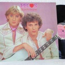 Discos de vinilo: PECOS.UN PAR DE CORAZONES LP ORIGINAL 1979 EN EXCELENTE ESTADO VER + INFORMACIÒN ADJUNTA. Lote 271505578
