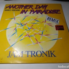 Discos de vinilo: MAXI - JAMTRONIC – ANOTHER DAY IN PARADISE - MX 241 (VG+ / VG) SPAIN 1990. Lote 271531843