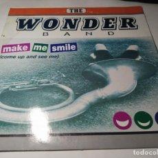Discos de vinilo: MAXI - THE WONDER BAND – MAKE ME SMILE - NM1818MX (VG+ / VG+) SPAIN 1998. Lote 271532413