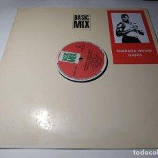 Discos de vinilo: MAXI - SHARADA HOUSE GANG - LIFE IS LIFE (VG+ / VG+) SPAIN 1991. Lote 271533158
