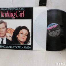 Discos de vinilo: WORKING GIRL --ORIGINAL SOUNDTRACK ALBUM--MUSIC--BY CARLY SIMON- BMG- 1988--MADRID-ARIASTA-. Lote 271534753