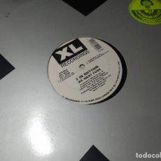 Discos de vinilo: MAXI - 2 IN RHTYHM – WE WANT FUNK - XXL-001 (VG+ / G+) UK 1989. Lote 271534768