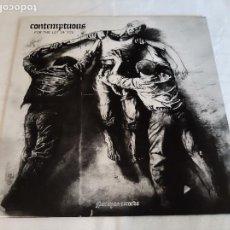 Discos de vinilo: CONTEMPTUOUS -FOR THE LOT OF YOU- (2008) LP DISCO VINILO. Lote 271540333