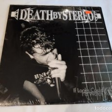 Discos de vinilo: DEATH BY STEREO -IF LOOKS COULD KILL I'D WATCH YOU DIE- (2015) LP DISCO VINILO. Lote 271545868