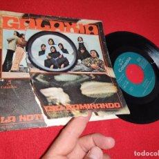 Discos de vinilo: GALAXIA LA NOTICIA/CAMINANDO 7'' SINGLE 1971 COLUMBIA PSYCH FLAMENCO. Lote 271551963