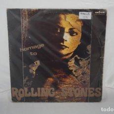 Discos de vinilo: 6/21# VINILO 12´´ - LP - HOMAGE TO ROLLING STONES / ORFEU - SB-1230. Lote 271552753
