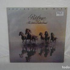 Discos de vinilo: 6/21# VINILO 12´´ - LP - BOB SEGER - THE SILVER BULLET BAND - AGAINST THE WIND / CAPITOL 07485097. Lote 271553423