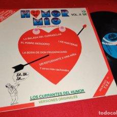 Discos de vinilo: HUMOR MIO VOL.II LP 1980 K-TEL SPAIN. Lote 271553983