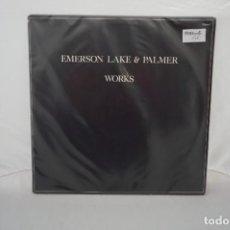 Discos de vinilo: 6/21# VINILO 12´´ - LP - EMERSON LAKE & PALMER - WORKS / ARIOLA 5028 612. Lote 271554303