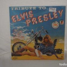 Discos de vinilo: 6/21# VINILO 12´´ - LP - TRIBUTE TO ELVIS PRESLEY VOL. 2 / RR LP 2.133. Lote 271555183