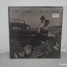 Discos de vinilo: 6/21# VINILO 12´´ - LP - RUI VELOSO E A BANDA SONORA - AR DE ROCK / EMI 072 - 40 523. Lote 271556123