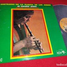 Discos de vinilo: FACIO SANTILLAN SORTILEGIO DE LA FLAUTA DE LOS ANDES EL CONDOR PASA VOL.2 LP 1970 SPAIN ESPAÑA. Lote 271556933