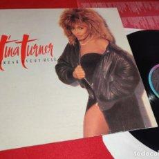 Discos de vinilo: TINA TURNER BREAK EVERY RULE LP 1986 CAPITOL RECORDS ESPAÑA SPAIN. Lote 271557948