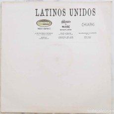 Discos de vinilo: LATINOS UNIDOS, CONTROL MACHETE, PARALAMAS, EL SUP... MAXI SINGLE 6 TEMAS. Lote 271558183