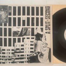 Discos de vinilo: MAXI A SPLIT SECOND FLESH EDICIÓN ESPAÑOLA DE 1987. Lote 271558203