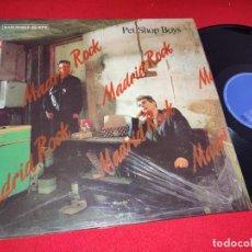 Discos de vinilo: PET SHOP BOYS IT'S A SIN (DISCO MIX)/YOU KNOW WHERE YOU WENT WRONG +1 12'' MX 1987 EMI ESPAÑA SPAIN. Lote 271560328