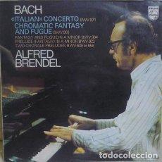 "Dischi in vinile: BACH / ALFRED BRENDEL - ""ITALIAN"" CONCERTO BWV 971 / CHROMATIC FANTASY AND FUGUE BWV 903 (LP). Lote 271566188"