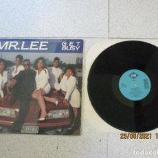 Discos de vinilo: MR.LEE - GET BUSY - MAXI - USA - JIVE - IBL -. Lote 271566978