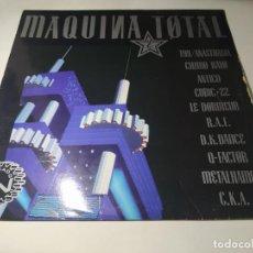 Disques de vinyle: LP - VARIOUS – MAQUINA TOTAL 2 - NM510LETV (VG+ / G+) SPAIN 1991. Lote 271567228
