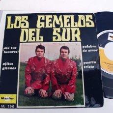 Discos de vinilo: LOS GEMELOS DEL SUR-EP OLE TUS LUNARES +3-BUEN ESTADO. Lote 271567788