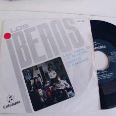 Discos de vinilo: LOS IBEROS-SINGLE LAS TRES DE LA NOCHE-NUEVO. Lote 271569243