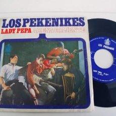 Discos de vinilo: LOS PEKENIKES-SINGLE LADY PEPA. Lote 271576248