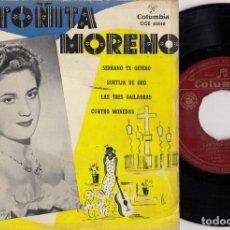 Discos de vinilo: ANTOÑITA MORENO - EL BANDIDO GENEROSO - EP DE VINILO. Lote 271577053