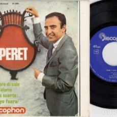 Discos de vinilo: PERET - SAPORE DI SALE - EP DE VINILO RUMBAS. Lote 271578248