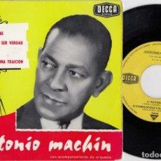 Discos de vinilo: ANTONIO MACHIN - ISLA DEL CARIBE - EP DE VINILO EDITADO EN FRANCIA. Lote 271580038