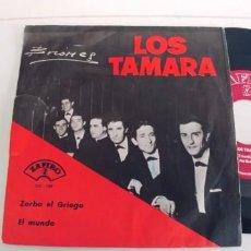 Discos de vinilo: LOS TAMARA-SINGLE ZORBA EL GRIEGO. Lote 271580043