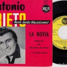 Discos de vinilo: ANTONIO PRIETO - LA NOVIA - EP DE VINILO EDITADO EN FRANCIA. Lote 271580403