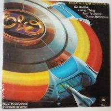 Discos de vinilo: ELECTRIC LIGHT ORCHESTRA- LIVING THING - SPAIN PROMO EP 1978- ELO- VINILO CASI NUEVO.. Lote 271580453
