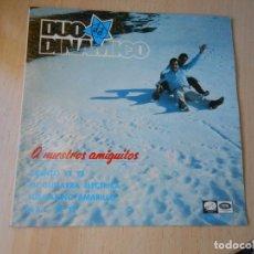Discos de vinilo: DUO DINÁMICO - A NUESTROS AMIGUITOS -, EP, CUENTO YE YE+ 3, AÑO 1966. Lote 271580583