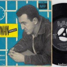 Discos de vinilo: PUCHO BOEDO ( LOS TAMARA ) CON LOS TROVADORES - CHESSMAN TANGO - EP DE VINILO. Lote 271581003