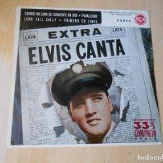 Discos de vinilo: ELVIS PRESLEY, EP, CUANDO MI LUNA SE CONVIERTE EN ORO + 3, AÑO 1959. Lote 271584343