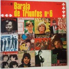 Discos de vinilo: BARAJA DE TRIUNFOS Nº 6- LOS CHEYENNES- LOS MATEMATICOS- THE STRONAUTS - SPAIN LP 1966.. Lote 271585158