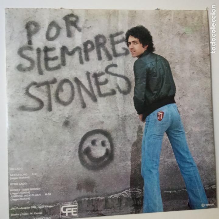 Discos de vinilo: MARISCAL ROMERO- STONMANIA- PROMO MAXI SINGLE 1978- THE ROLLING STONES- VINILO COMO NUEVO. - Foto 3 - 271585723