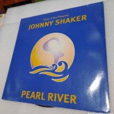 Discos de vinilo: THREE 'N ONE PRESENTS JOHNNY SHAKER - PEARL RIVER. Lote 271593643