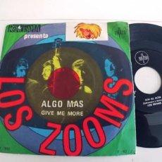 Discos de vinilo: LOS ZOOMS-SINGLE ALGO MAS. Lote 271593823