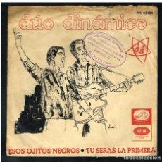 Discos de vinilo: DUO DINAMICO - ESOS OJITOS NEGROS / TU SERÁS PRIMERA - SINGLE 1965 - SOLO PORTADA SIN VINILO. Lote 271595208